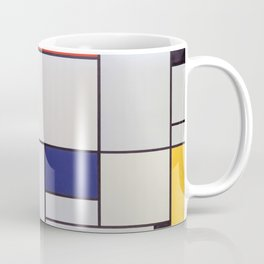 Piet Mondrian - Tableau I Coffee Mug