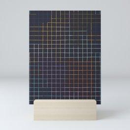 Bauhaus Mod - Graph Paper Mini Art Print