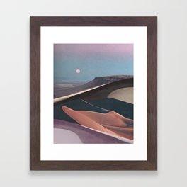 Mirage Moon Framed Art Print