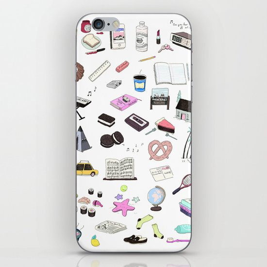 I Would Rather Just Hang Out With You iPhone Skin
