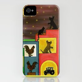 """""""Moonlight & Silhouettes (i)"""" by ICA PAVON iPhone Case"""