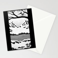 Scissortail Winter Stationery Cards