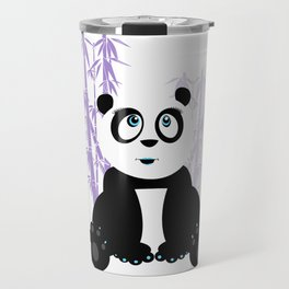 Panda Girl - Purple Travel Mug