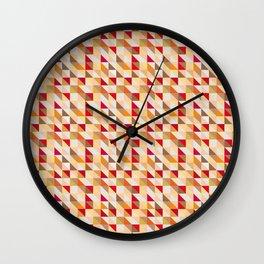 Squared Warm Wall Clock