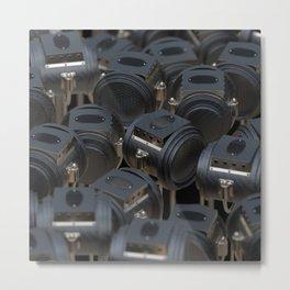 Lights, Camera, Traction Metal Print
