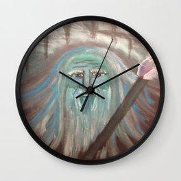 Wizard Wisdom Wall Clock
