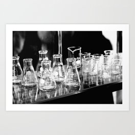 Blinded By Science Art Print