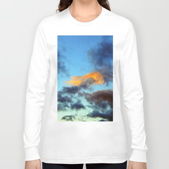 Fishy Cloud Glows in the Sky Long Sleeve T-shirt