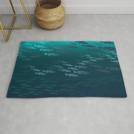 Fish Under The Storm Rug