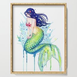Mermaid Splash Serving Tray