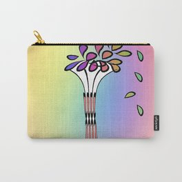 VASE OF FRESH FLOWERS Carry-All Pouch