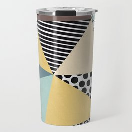 Abstract Geometry Travel Mug