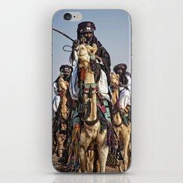 Journey - Tuareg nomads, Africa iPhone Skin