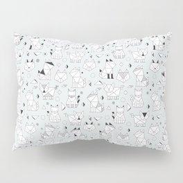 Origami cats Pillow Sham