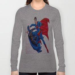 Final Showdown: Superhero Edition Long Sleeve T-shirt
