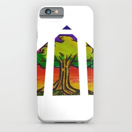 Triangle Tree iPhone Case