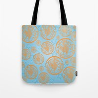 marine Tote Bags featuring marine by Maritserg