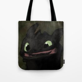 Toothless Grin Tote Bag
