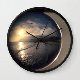 Capturing Avila Beach refraction photography crystal ball Wall Clock