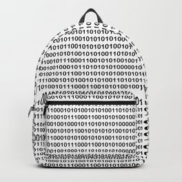 Binary Code Backpack
