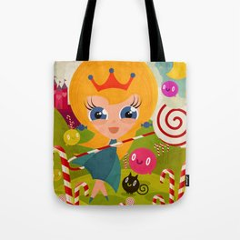 Caramel Princess Tote Bag
