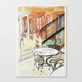 Afternoon At Maxfields  Canvas Print