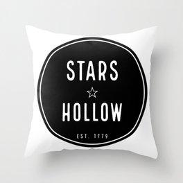 Stars Hollow Throw Pillow