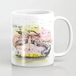 Vatican. Watercolor and ink. Coffee Mug