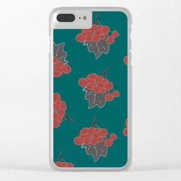 Rowan Clear iPhone Case