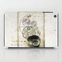 nietzsche iPad Cases featuring everthing's connected by Sybille Sterk