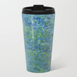 Bright Blue Lagoon Travel Mug