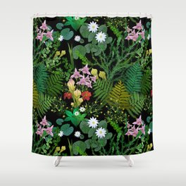 Botanical Bog Shower Curtain