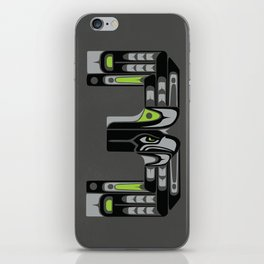 Seattle 3 - Black iPhone Skin
