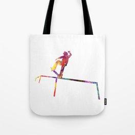 Grinding Skateboard  Quote Art Design Inspiration Tote Bag