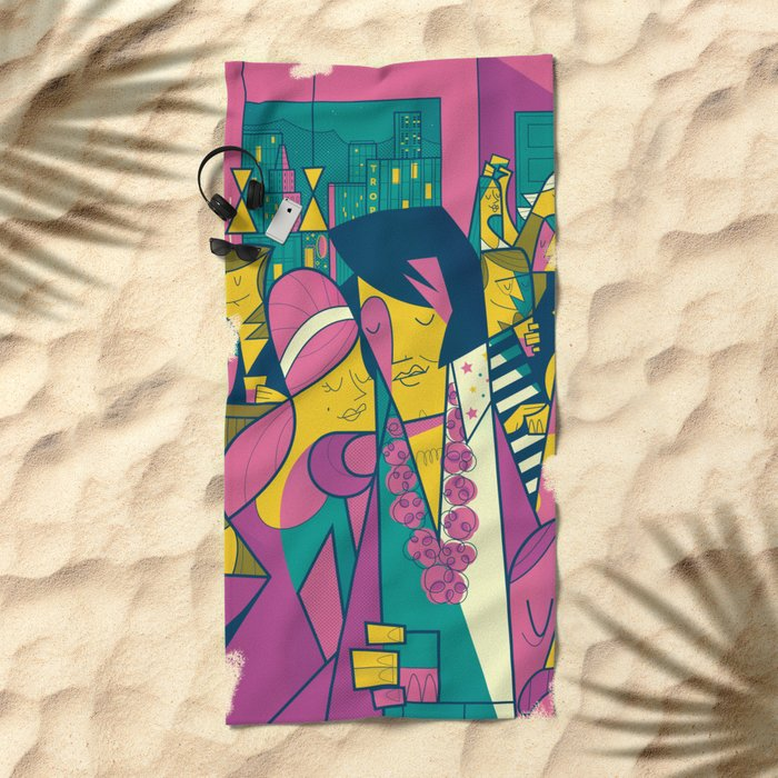Elvis Beach Towel
