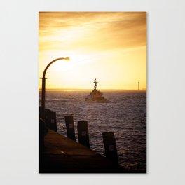Towboat Canvas Print