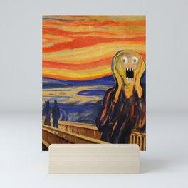 The Screamer - Really Freaked Out Mini Art Print