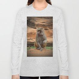 Hamadryas Baboon Long Sleeve T-shirt