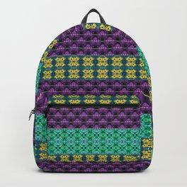 Mardi Gras Colors Backpack