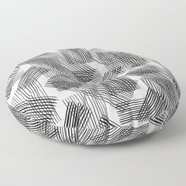 Grid by Grid Floor Pillow