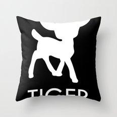 Bambi Tiger Throw Pillow