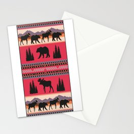 American Native Pattern No. 39 Stationery Cards