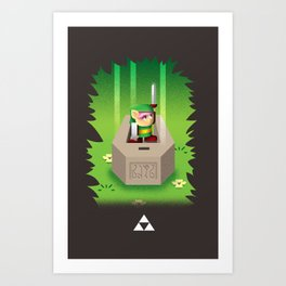 The Legend Art Print