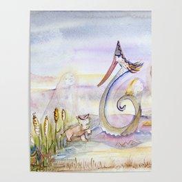 Swan in Love Poster
