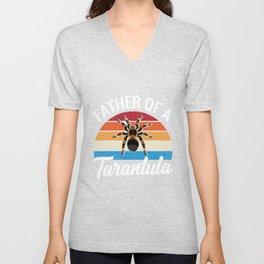 Funny Retro Vintage Tarantula Unisex V-Neck