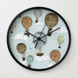the most amazing adventure so far Wall Clock