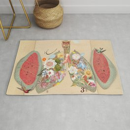 lungs to love Rug