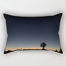 Ibiza, Sant Antonio bay at sunset Rectangular Pillow