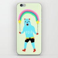 yolo iPhone & iPod Skins featuring Yolo by Saif Chowdhury