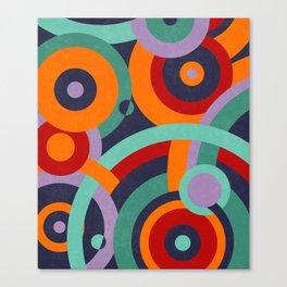 Colorful circles II Canvas Print